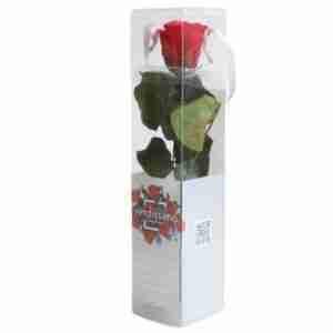 Rosa Preservada Roja 27cm