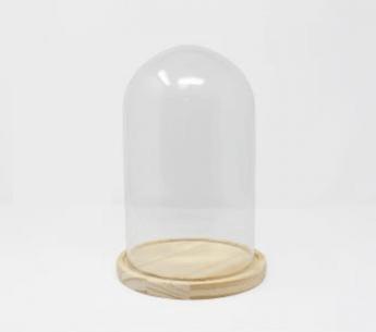 Cúpula con base de madera